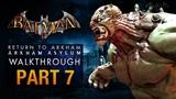 Batman Return to Arkham Asylum Walkthrough - Part 7 - The Botanical Gardens