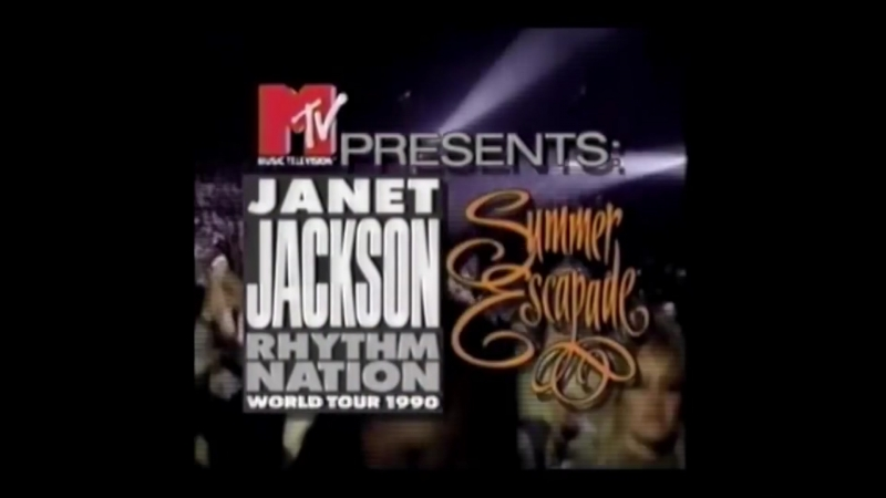 MTV AD Janet Jackson World Tour 1990 (MTV US 1990)