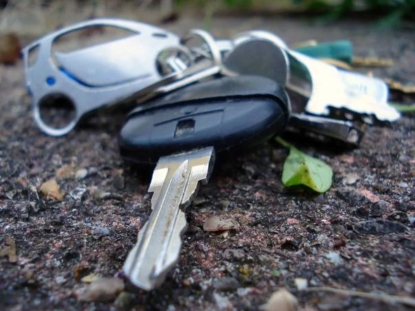 ключи ... еду с работы. звонок. сосед по гаражам олег вспомнил мое предложение как-нибудь зачистить выезд с кооператива от разросшихся деревьев и кустарников. заезжаю за ним. загоняю коника.