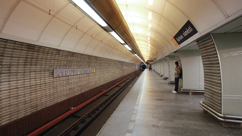 You need to move fast to catch the subway in Prague