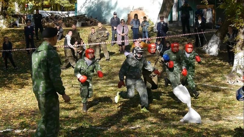 Фестиваль-состязание «Казачий спас» в Волоконовке