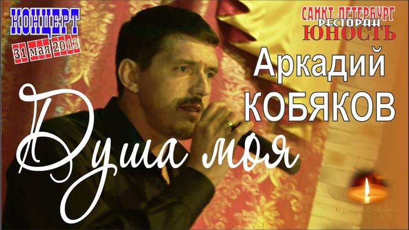 Аркадий КОБЯКОВ - Душа моя (Концерт в Санкт-Петербурге 31.05.2013)