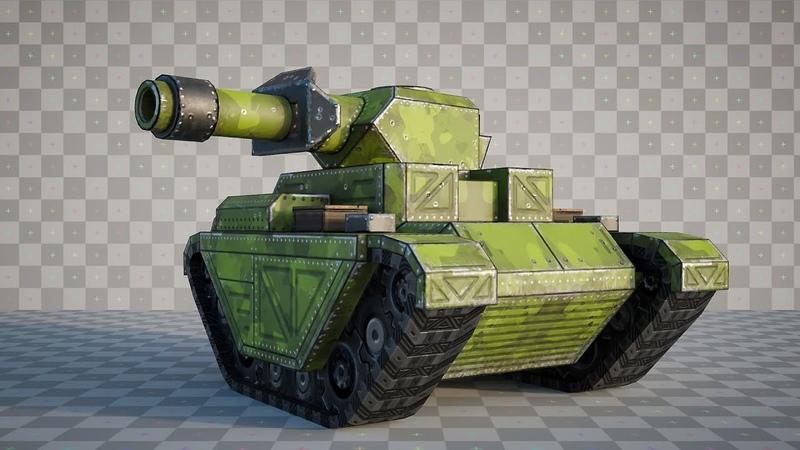 Animating Tank Treads Using Drivers and UVs in Blender - Mobile Mini Tank Course Bonus Lesson
