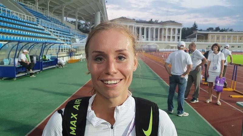 Елена Седова - чемпионка России в беге на 10000 м 32.45,94