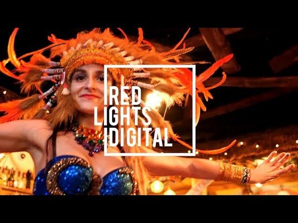 Горячие Бразильские Девушки Танцевальное Шоу Рио Тики Бар На пляже By Red Lights Digital