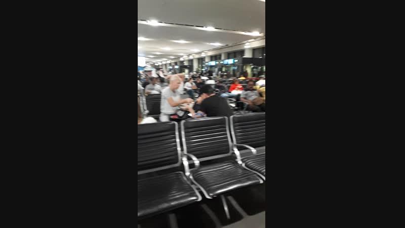 шикарный арабский аэропорт