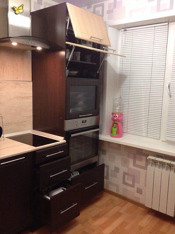Небольшая кухня 6 кв.