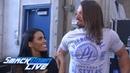 Zelina Vega challenges AJ Styles on behalf of Andrade Cien Almas WWE Exclusive July 17 2018