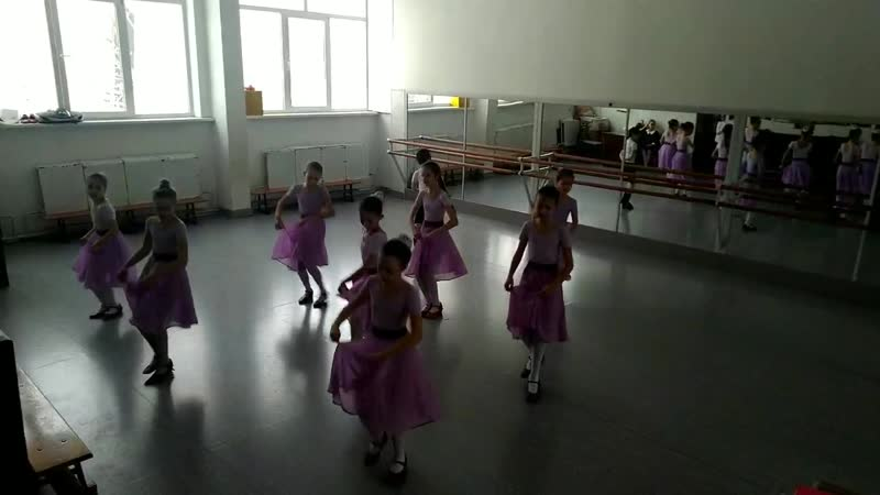 Экзамен Народный танец