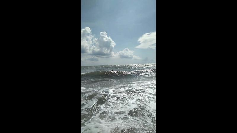 в морской пучине