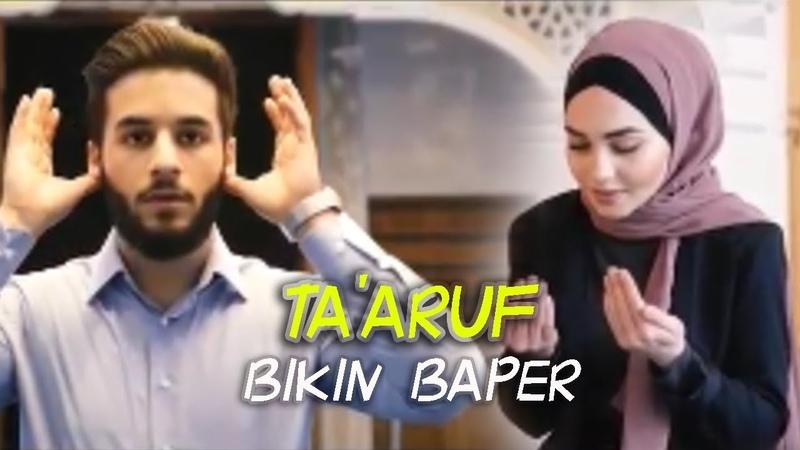 ❤ TA'ARUF ❤ Pacaran Islami Versi Sholawat dengan klip bikin baper (Kekasih Hati)