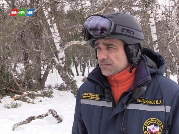 Поисково спасательные работы в горно лесной местности