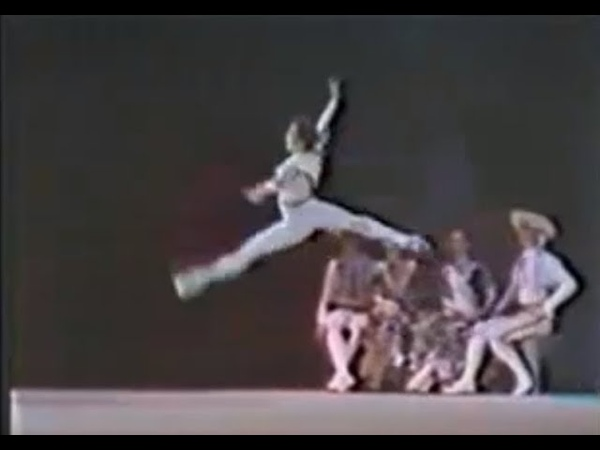 Mikhail Baryshnikov and Gabriela Komleva. Variation from the L. Minkus' ballet Don Quixote. 1971.