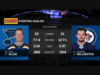 NHL 2018-2019 / RS / 07.12.2018 / St. Louis Blues - Winnipeg Jets