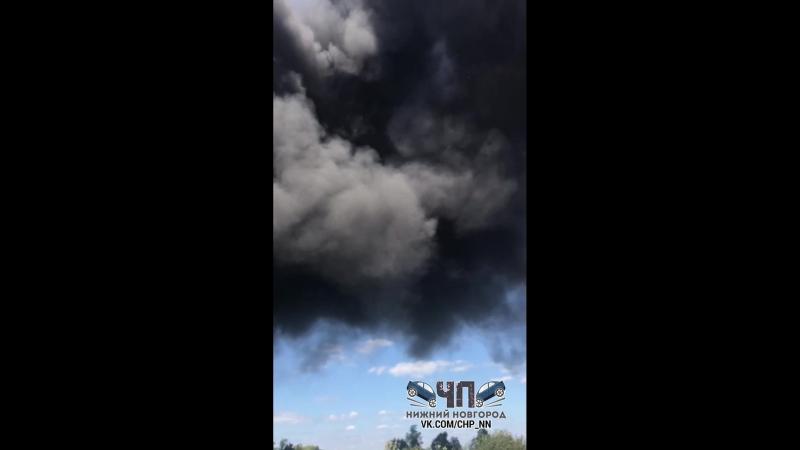 ▶ Богородск Пожар 12 08 18
