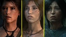 Tomb Raider vs Rise of the Tomb Raider vs Shadow of the Tomb Raider - Character Model Comparison