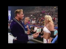 - Kurt Angle blames Torrie Wilson for his injuries after being dropped from a ledge by Big Show