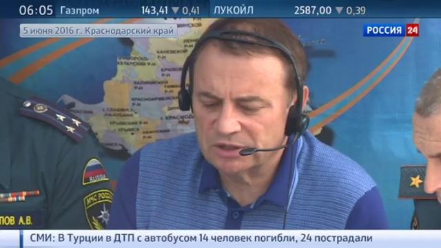 Новости на Россия 24 • Власти Сочи бросают все возможные резервы на ликвидацию разгула стихии