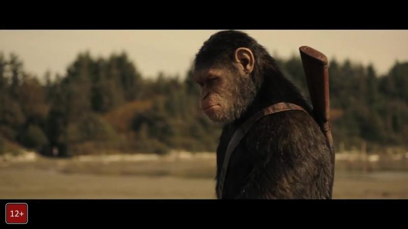 Планета обезьян Война Русский Трейлер 2 2017 MSOT
