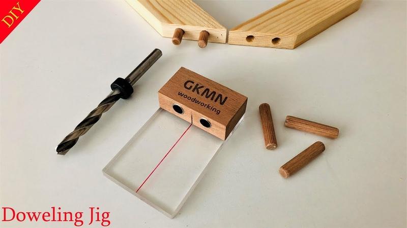 DIY Simplest Doweling Jig