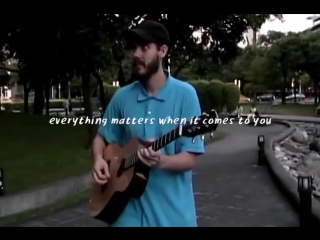 San Holo -  'everything matters when it comes to you.'
