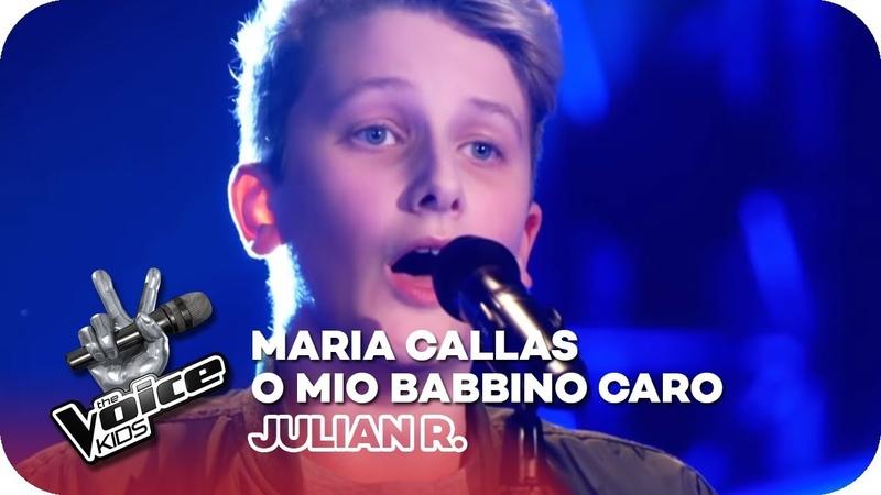 Maria Callas - O Mio Babbino Caro (Julian R.) | Blind Auditions 2018 | The Voice Kids | SAT.1