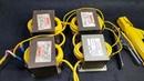 DIY Arc Welding Machine 4pcs Microwave Transformers
