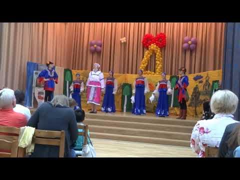 Ансамбль Лебёдушка концерт 11 06 2015 школа 618