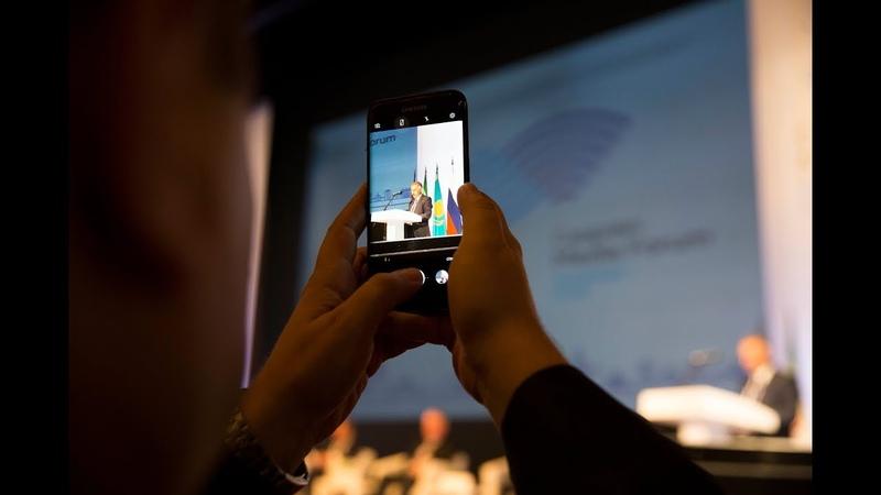 Пленарное заседание. Приветственное слово представителя делегации Азербайджанской Республики