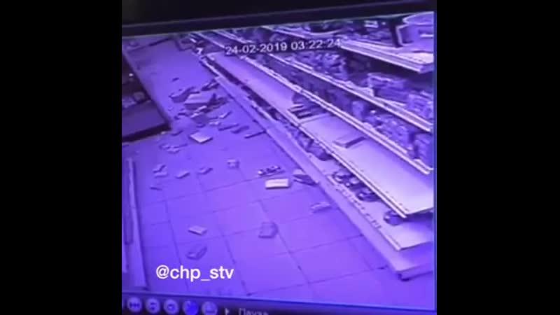 В Ставрополе хозяйка пса, помочившегося в магазине, устроила разнос. Женщина смела с полок продукцию, а потом покусала охранника