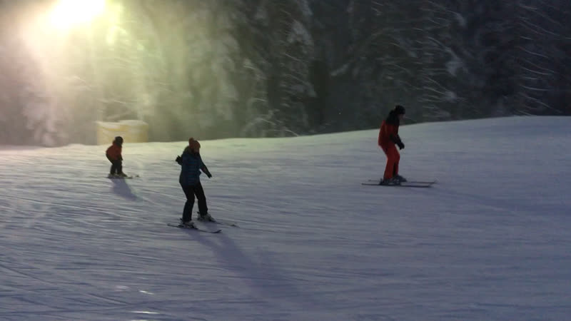 Мої перші лижі