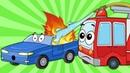 Развивающие Мультики про Машинки – 60 Минут Мультфильмов для Детей – Сборник Все Серии Подряд