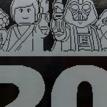 """LEGO on Instagram """"LEGOStarWars is turning 20 and the party is happening at StarWarsCelebration 2019! 🎉 See behind-the-scenes as the large-scale..."""