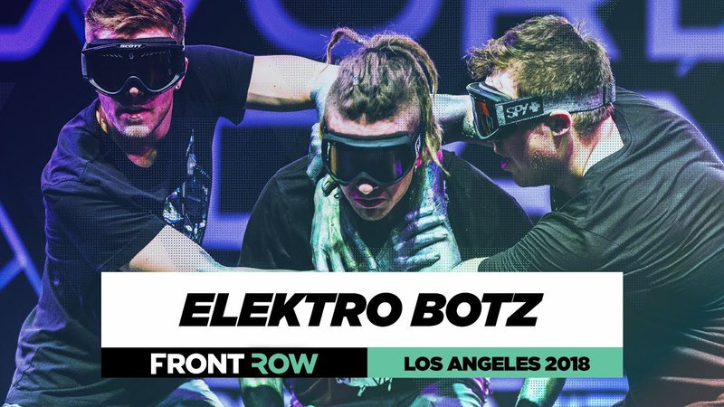 Elektro Botz | FrontRow | World of Dance Los Angeles 2018 | WODLA18