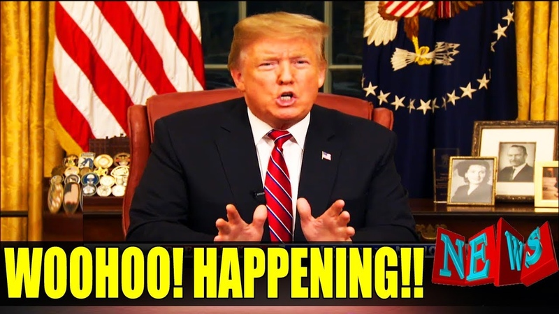 FINALLY! Trump Just DECLARES IT On BORDER WALL FUNDING In Oval Office!! TOP DEMS UNDER FIRE! (VIDEO)