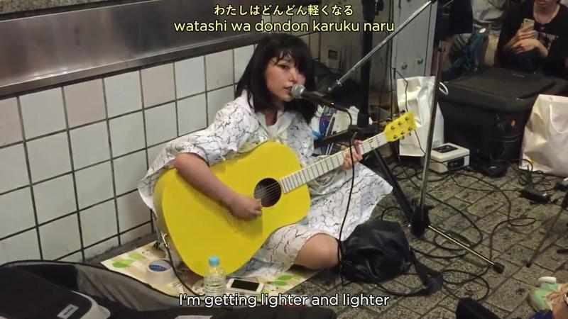 Fuusen – Sayuri [Kanji/Romaji/English subbed] (2015.07.17 in Shibuya)