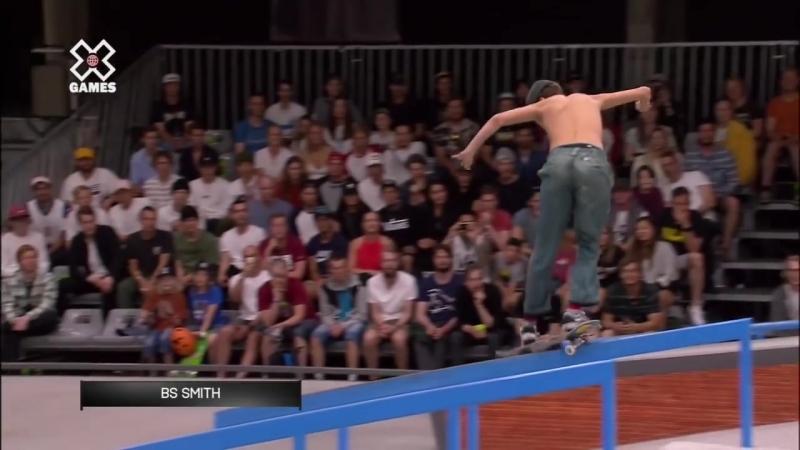 Jagger Eaton wins Men's Skateboard Street silver _ X Games Norway 2018