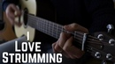 Strumming Beautiful Chords with melody