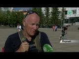 Более 1500 км на велосипеде до столицы алмазного края преодолел турист Жан-Филипп Фонтен