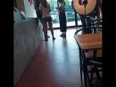 180814 Момо Мина Цзыюй в кафе Soul Cup в новом здании JYPE cr hushjj