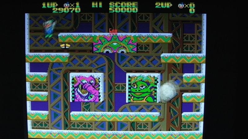 ArcadeForge SLG SCART test (Megadrive)