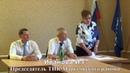 Агитация председателя ТИК при выборе главы Подлесновского МО