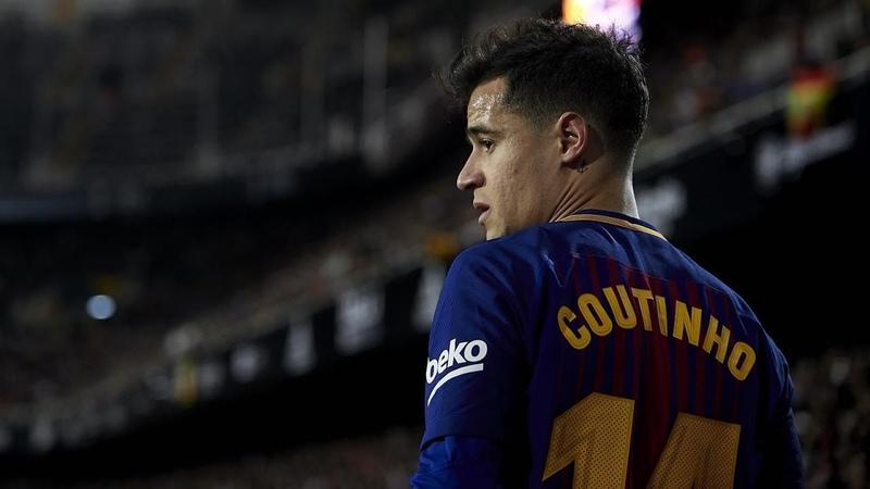 Все голы Коутиньо за Барселону в сезоне 201718