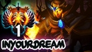 Worlds TOP-1 Rank MMR inYourdreaM EPIC Invoker Compilation - Dota 2