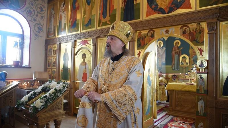 Проповедь митрополита Иоанна в день памяти бессребреников мчч Космы и Дамиана