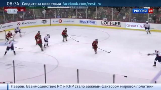 Новости на Россия 24 • Овечкин вышел на первое место в списке снайперов НХЛ после хет-трика в матче с Миннесотой