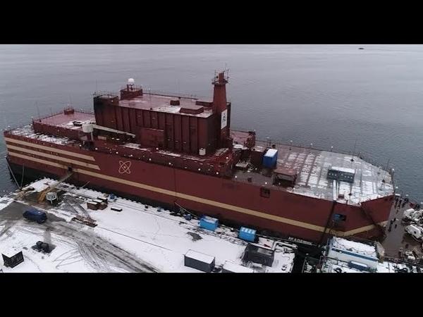 Реактор плавучей АЭС пущен («Первый пуск», Россия 24)