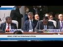 Лидеры стран БРИКС встретились с представителями стран Африки