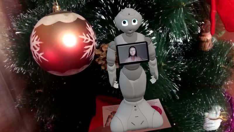 роботмода дополненнаяреальность контент визитка маркер робот ar augmentedreality robot robotmoda www.robotmoda.ru
