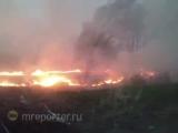 Пожары в Курганской области. Мобильный репортёр